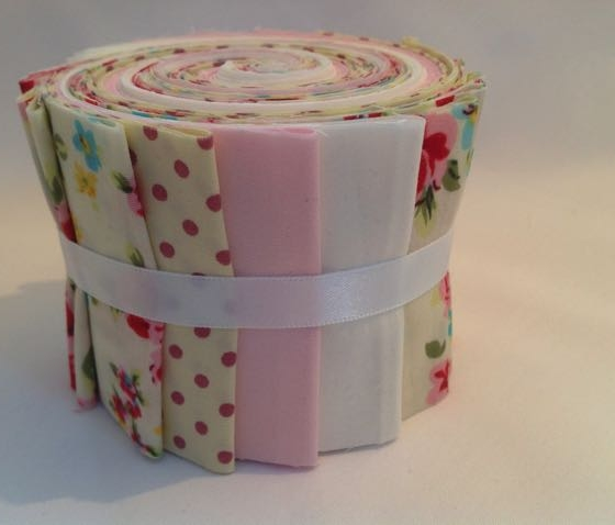 Pink & Cream Jelly Roll