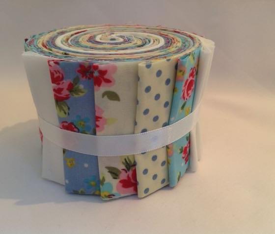 Cream & Blue Jelly Roll